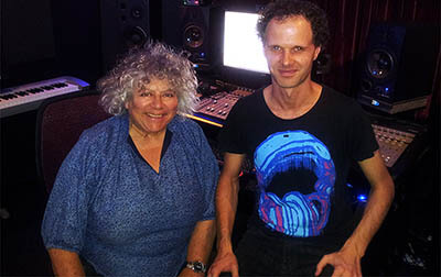 Miriam Margolyes Voice Over Recording