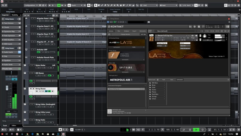 Cubase 10 Dark Mode Theme Plugin Window
