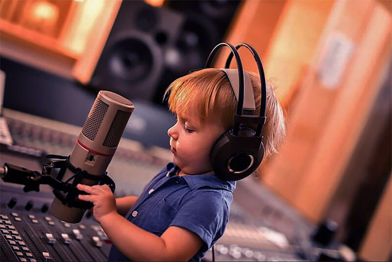 The term music producer has lost all meaning. Kid music producer.